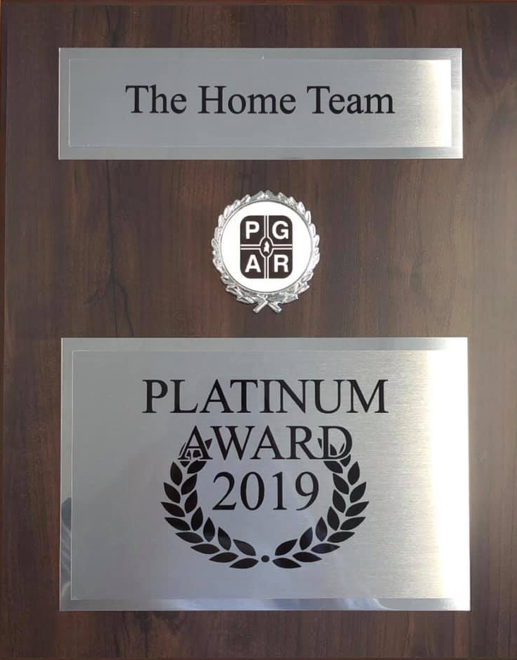 The Home Team Realty Group Award
